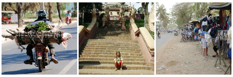 Blandede billeder fra Phnom Penh