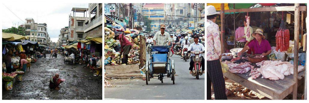 Billeder af pige i Phnom Penh