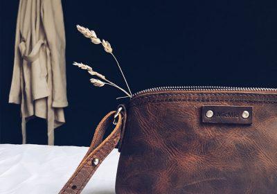 Cala Millor brun læder profil