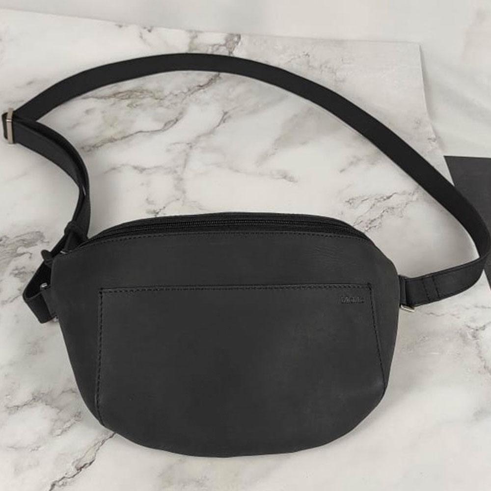 Billede af Bumbag læder, Siem XL i sort